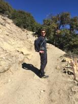 Jon on the trail