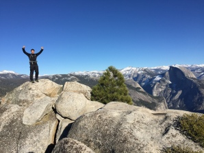 King of the mountain on Eagle Peak