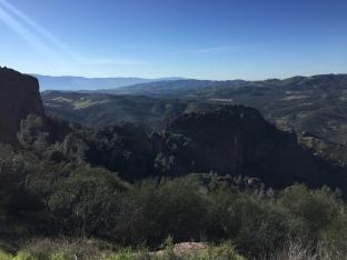 Ridgeline views weren't too bad