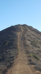 Super steep uphill
